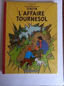 L'AFFAIRE TOURNESOL EO BELGE B20 1956