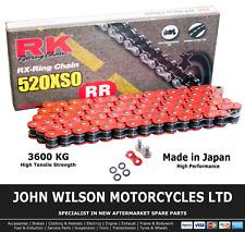 Suzuki GS 500 F 2005 K5 Red RK X-Ring Chain 520 XSO 110 Link