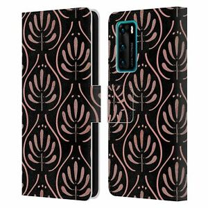 ANIS ILLUSTRATION ASSORTED DESIGNS LEATHER BOOK WALLET CASE FOR HUAWEI PHONES