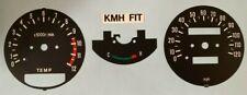 YAMAHA RD250LC RD350LC SPEEDOMETER + TACHOMETER RESTORATION DECALS KPH = MPH