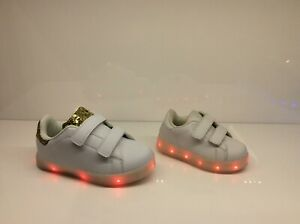Boy Girls Kid Light Up Shoes LED Flashing Trainer Sneaker UK Gift Sale Size
