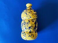 🔴 Bottiglia olio o vaso monofiore ceramica dipinta a mano GROTTAGLIE - Nuova