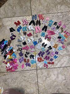 barbie shoes lot 80+ Pairs
