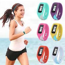 Men Women Sport Digital LCD Pedometer Run Step Walking Distance Calorie Watches