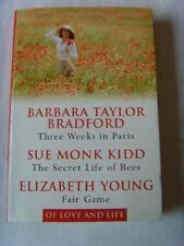 Very Good, THREE WEEKS IN PARIS : THE SECRET LIFE OF BEES : FAIR GAME., Elizabet