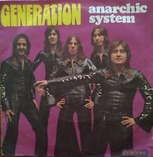 "Anarchic System - Generation - Vinyl 7"" 45T (Single)"