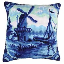 """Delftware""   Cushion kit for Embroidery 5200"
