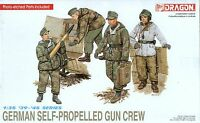 Dragon 1/35 6016 WWII German Self-Propelled Gun Crew (4 Figures)