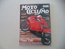 MOTOCICLISMO D'EPOCA 2/2013 CORSARINO SCRAMBLER/DUCATI PASO 750/GILERA V.T. 500