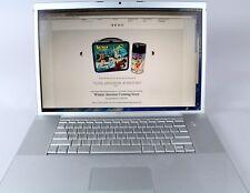 "Apple MacBook Pro 17"" Intel Core 2 Duo  2.33GHz 2GBGB OS X EXCELLENT!"