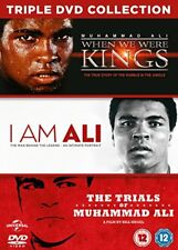 When We Were Kings - I Am Ali - The Trials Of Muhammad Ali 3 DVD Box Set Boxing