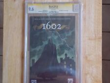 MARVEL 1602 #1 SS CGC 9.6 - KUBERT SIG & COA BY DYNAMIC FORCES 8/49!