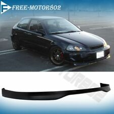 Fit For 96-98 Honda Civic 2 3 4 DR Type R TR JDM Front Bumper Lip Spoiler Wing