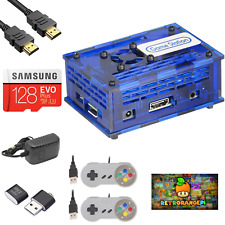 17000 RETRORANGEPI 128G Game Station Retro Video Game Arcade Console Orangepi PC