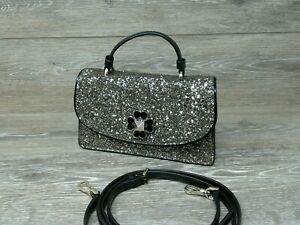 Kate Spade Odette Glitter Mini Top Handle Crossbody (NWT)