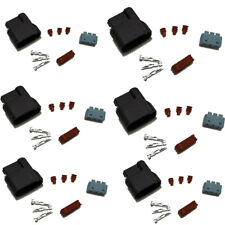 6X New Ignition w/out Wire Coil Plug Connector Pigtail Harnesses For Honda Acura