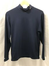 Nike Mens Xl Long Sleeve Dri Fit Blue Made In Usa
