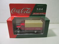 Hartoy Coca-Cola Mack Model BM Delivery Truck 1:64 Scale Diecast mb1336