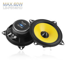 2pcs 60W 4ohm 4inch 2-Way 88dB 80-20KHz Car Audio Stereo Lound Speaker SubWoofer