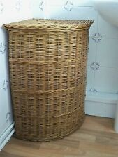 NEUF!!! Taille Moyenne! totalement anglaise Willow Panier à linge d'angle en forme de