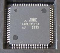2PCS IC ATMEGA128A-AU QFP-64 8-bit Microcontroller NEW