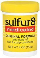 Sulfur8 Anti-Dandruff Hair - Scalp Conditioner 4 oz (Pack of 2)