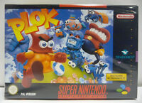 PLOK - SUPER NINTENDO SNES PAL BOXED