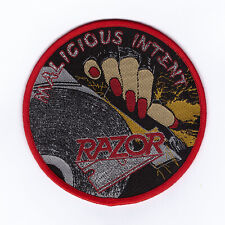 THOR Exciter Thunder on the Tundra OFFICIAL Woven Patch Sacrifice Razor