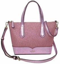 Kate Spade Lola Glitter Satchel Crossbody Rose Pink WKR00159 NWT $199 Retail FS