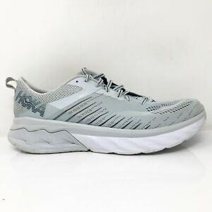 Hoka One One Womens Arahi 3 1104099 PAMOC Gray Running Shoes Lace Up Size 11