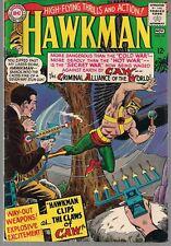"Hawkman #10 Dc 1965 vs ""C.A.W."" + ""Magic Mirror Mystery"" Murphy Anderson Art Fn"