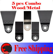 5 Pcs Oscillating Multitool Saw For Blade Bosch Dremel Fein Multimaster Nextec