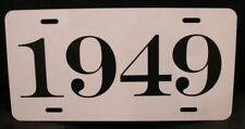 1949 YEAR LICENSE PLATE FITS CHEVY FORD CHRYSLER BUICK PONTIAC DESOTO CADILLAC
