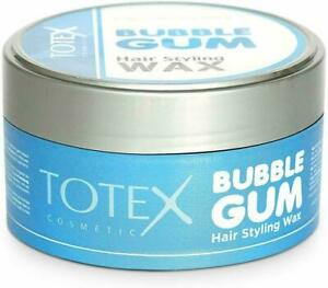 TOTEX - Hair Styling BUBBLEGUM scent WAX - Wet Look FORMULA - BLUE - 150ml