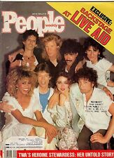 1985 People July 29-Coca Cola comes back; Mary Kay story; Live Aid;Rita Hayworth