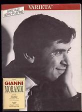 GIANNI MORANDI SPARTITO MUSICALE VARIETA' - BMG GRUPPO EDITORIALE