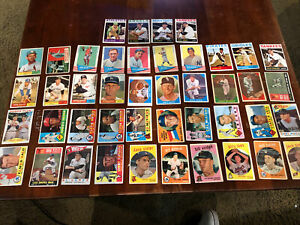 44 Card Lot 1959 To 1964 Topps & Fleer Baseball Card Collection Mathews Drysdale