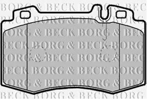 Bremsbeläge Vorne Satz Borg & Beck Für MERCEDES-BENZ S-KLASSE Limousine 4.3