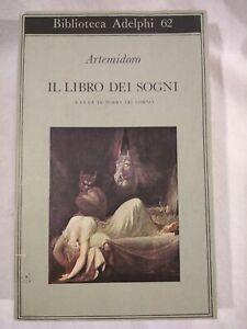 IL LIBRO DEI SOGNI DI ARTEMIDORO Adelphi Biblioteca 1975 libro usato