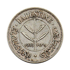 KM# 6 - 50 Mils - Palestine 1939 (VF)