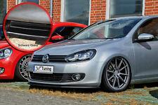 Spoilerschwert Frontspoiler Lippe aus ABS für VW Golf 6 mit ABE schwarz glänzend