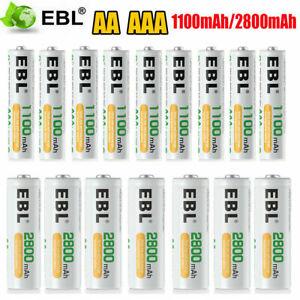 Wiederaufladbare Batterien Akku AAA / AA Micro Typ 2800mAh 1100mAh Mignon Typ DE