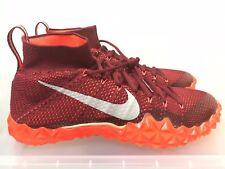 Nike Alpha Sensory Turf Football Shoes 854312-806 Crimson/Orange Sz 9.5