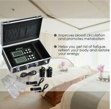 Detox Foot Bath Spa Machine Kit Cell Ion Ionic Aqua w/Case Cleanse Fir Belt LCD