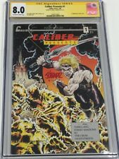Caliber Presents #1 Signed by James O'Barr CGC SS 1st Appearance of the Crow