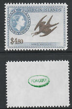 Br Virgin Is (2107) - 1956 Frigate Bird -  a Maryland FORGERY unused