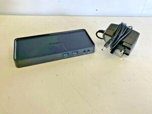 Kensington SD3600 K33991 Dual Video USB 3.0 HDMI Dock Station With PSU (F01/5)