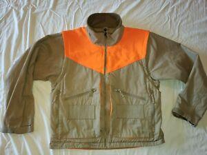 Cabela's Men's Waterproof Upland Tan Blaze Hunting SHOOTING Jacket VEST MEDIUM