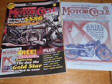 Revista De Motocicleta Clásica Mar 12, Brough SS80, MV 4C6, Motobecane, Inigualable G3LS