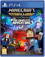 Minecraft Story Mode The Complete Adventure Playstation 4 PS4